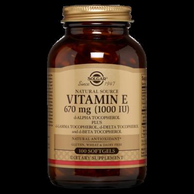 Solgar Vitamin E 1000iu
