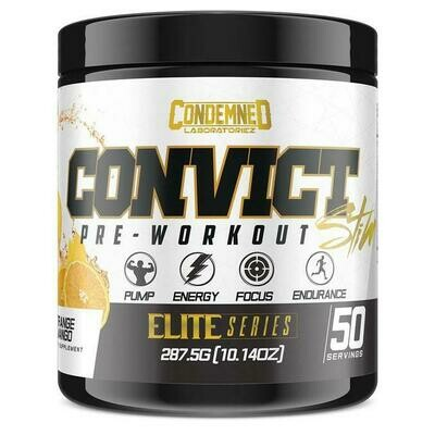 Condemned Labz Convict Preworkout