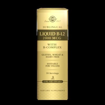 Solgar B12 + Liquid Combo
