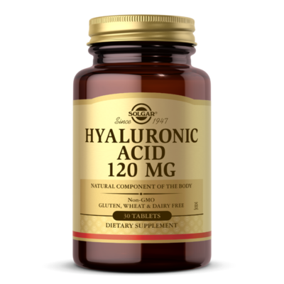 Solgar Hyaluronic Acid 120mg  30tablets
