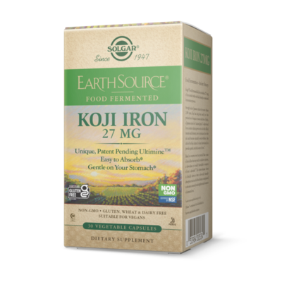Solgar Koji Iron 27mg