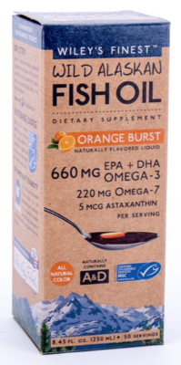 Wiley's Fish Oil Orange Burst Liquid