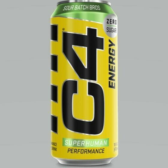 C4 16oz Carbonated RTD