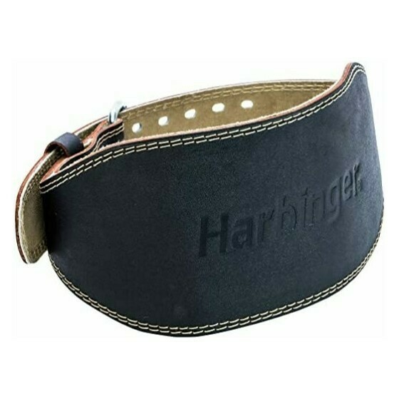 Harb Padded Leather Belt