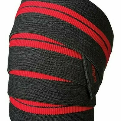 Harbinger Red Line Knee Wraps-78