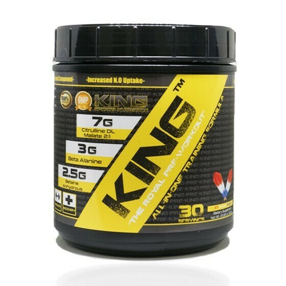 KING Sports Nutrition Pre-workout