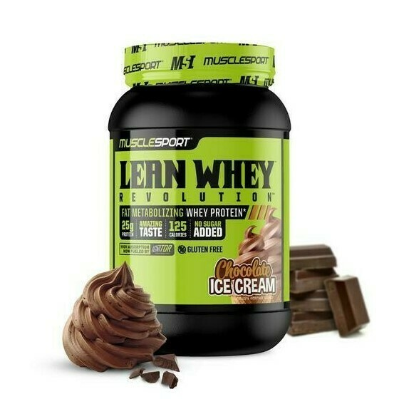 Muscle Sport Lean Whey 2lb Chocolate