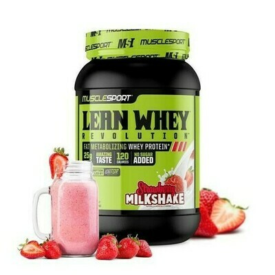 Muscle Sport Lean Whey 2lb Strawberry