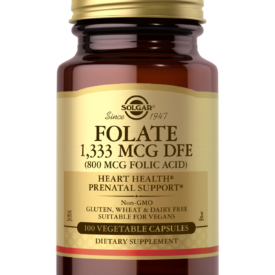 Solgar Folate 1,333 MCG DFE 100 capsules