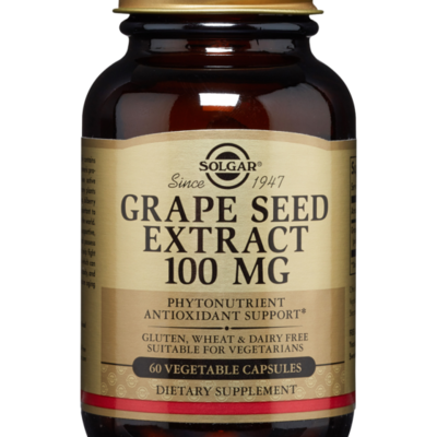 Solgar Grape Seed EXTRACT 100MG 60CAPS