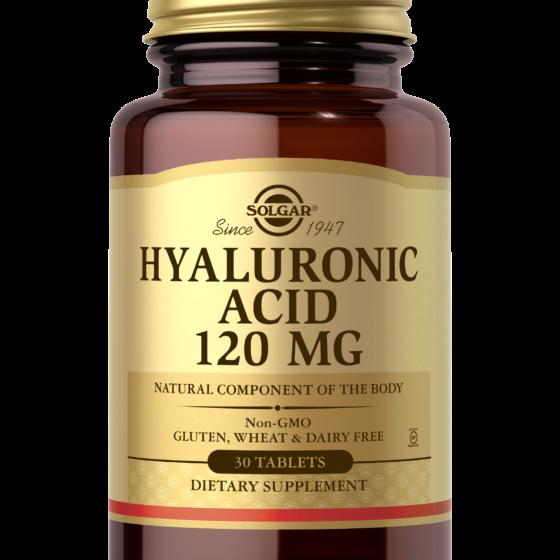 Solgar Hyaluronic Acid 120mg  30tablets