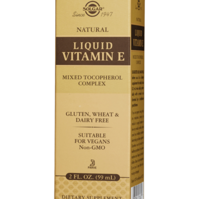 Solgar Liquid Vitamin E 2 FL OZ