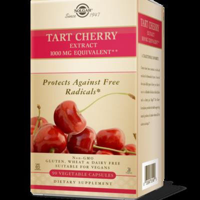 Solgar Tart Cherry 1000mg Veg Capsules