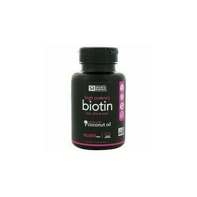 Sports Research Biotin 10,000mcg 120gels