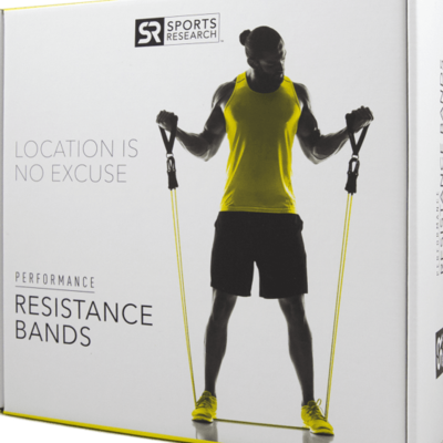 Sports Research Cable Resistance Bands