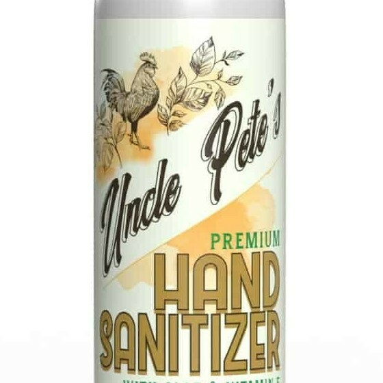Uncle Pete's Hand Sanitizer 16oz