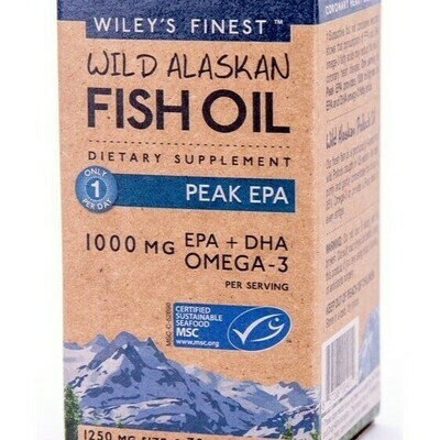 Wiley's Fish Oil Peak Omega 3 Liquid