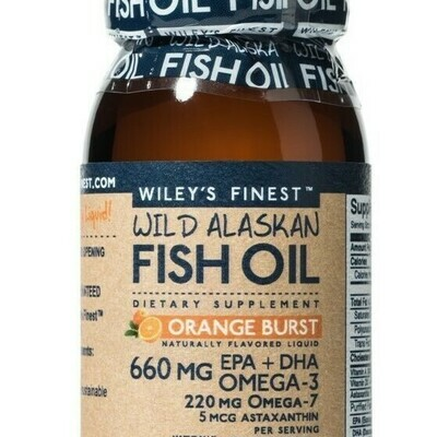 Wiley's Fish Oil Orange Burst Liquid