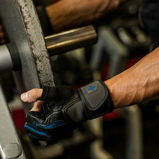 Harbinger Training Grip Wrist Wrap Gloves
