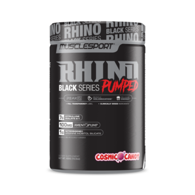 Muscle Sport Rhino Pumped Preworkout