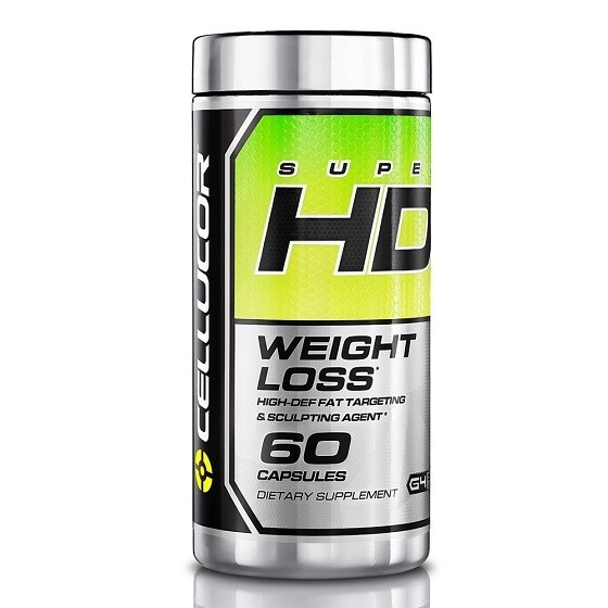 Cellucor Super Hd - Weight Loss - Fat Burner - 60 Capsules