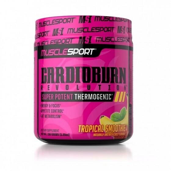 Muscle Sport CardioBurn Preworkout