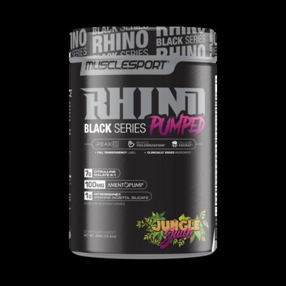 Muscle Sport RHINO Black V2 PUMPED