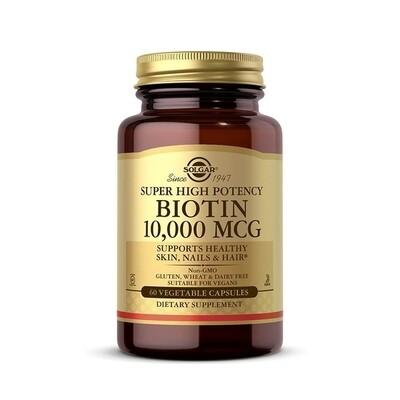 Solgar Biotin 10,000 MCG 60 caps