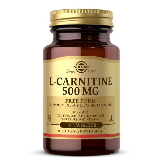 Solgar Carnitine 500mg 60 tablets