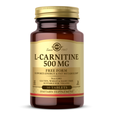 Solgar Carnitine 500mg 60 tablets
