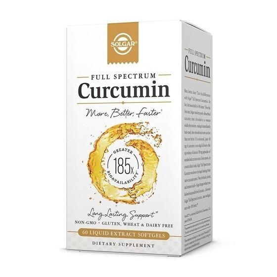 Solgar Curcumin 60 softgels