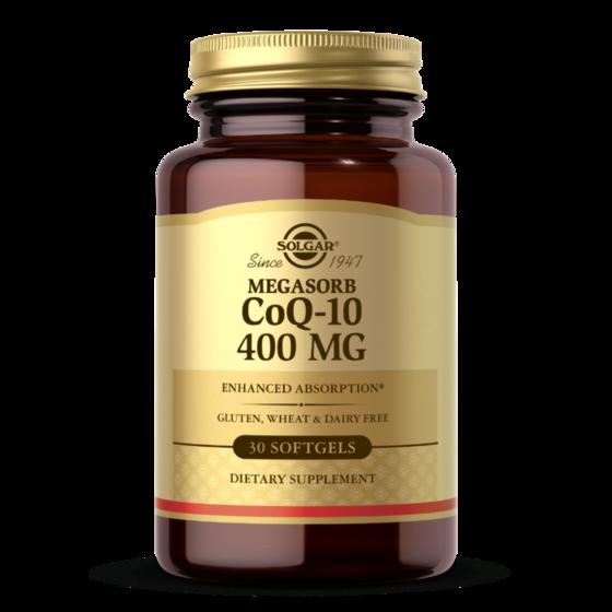 Solgar CoQ10 400mg 30 softgels