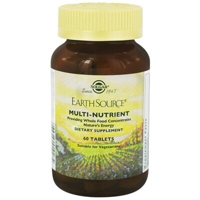 Solgar Earth Source Multi 60ct