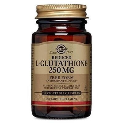 Solgar L-Glutathione 250mg 30caps