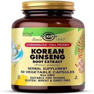 Solgar Korean Ginseng 60caps