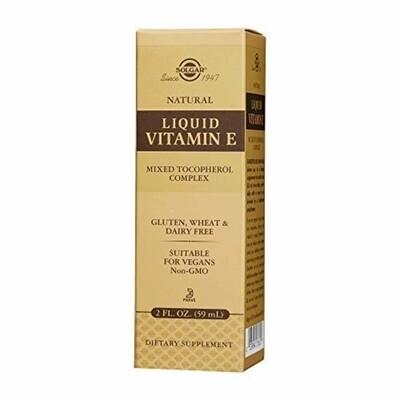 Solgar Liquid Vitamin E 2 FL OZ