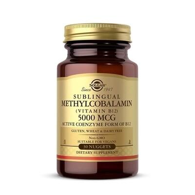 Solgar Methylcobalamin B12 5000MC 30 nuggets