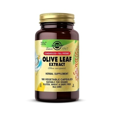 Solgar Olive Leaf Extract 180 Veg Capsules
