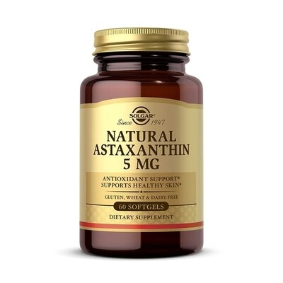 Solgar Natural Astaxanthin 5mg 60gels