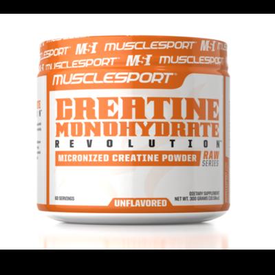 Muscle Sport Monohydrate Creatine 300 grams