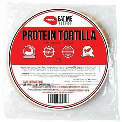 Eat Me Guilt Free Tortilla