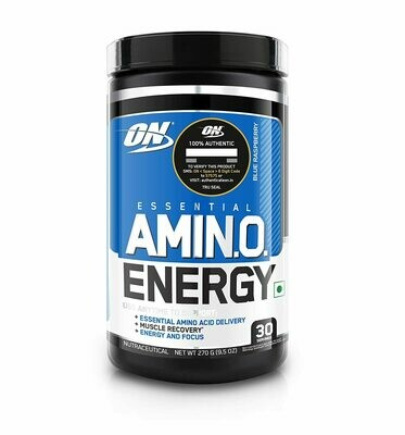 Optimum Nutrition ON Amino Energy 30 Serving - BCAA , Pre-Workout