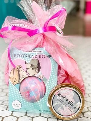 Boyfriend Bath Bomb Gift Bag