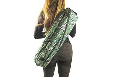 Yoga mat sling bag