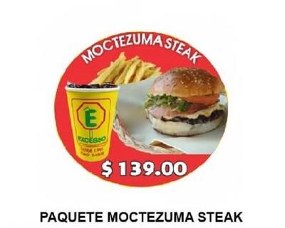 Moctezuma Steak en combo o sola
