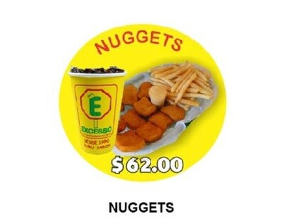 Nuggets en combo o solos