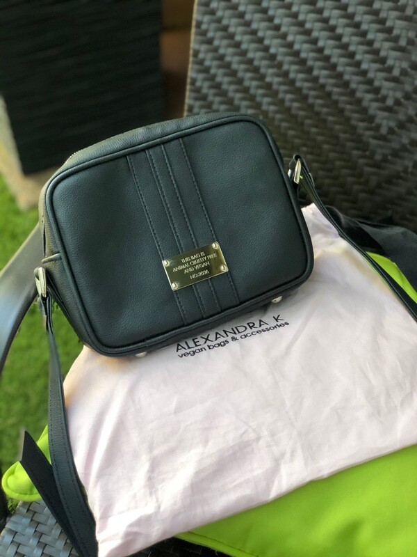 Alexandra K 0.6 Mini Shoulder Bag in Midnight Black
