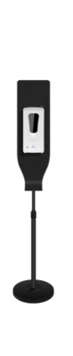 Sanitizer Pole (Black)