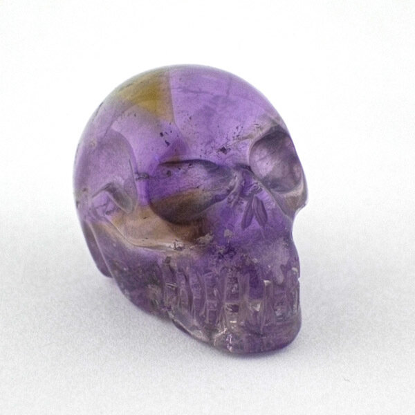 Ametrine Skull