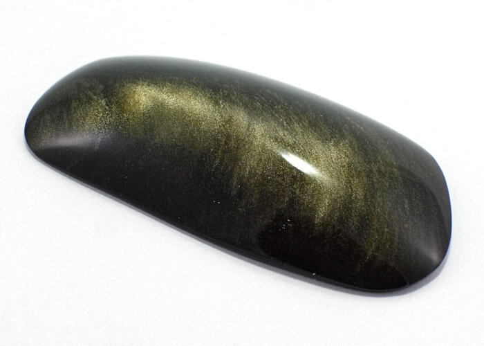 Gold Sheen Obsidian Face